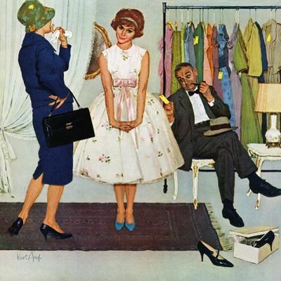 """""""First Prom Dress"""", April 18, 1959"""