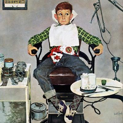 """""""In the Dentist's Chair"""", October 19, 1957"""
