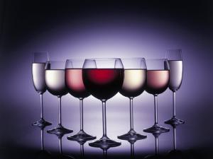 Glasses of Wine by Kurt Freundlinger