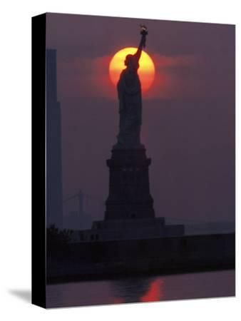 Statue of Liberty, Sunset, NYC
