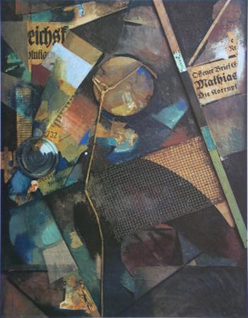 Merz-Pict. 25A: Das Sternenbild, c.1920 by Kurt Schwitters