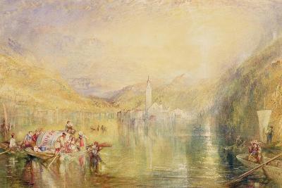 Kussnacht, Lake of Lucerne, Switzerland, 1843-J^ M^ W^ Turner-Giclee Print