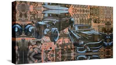 Kustom Nation-Marco Almera-Stretched Canvas Print