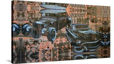 Kustom Nation-Marco Almera-Stretched Canvas Print