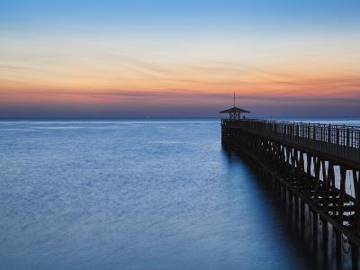 Kuwait, Kuwait City, Pier on Arabian Gulf Street-Jane Sweeney-Photographic Print