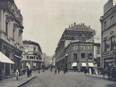 Kuznetsky Most (Blacksmith's Bridg), Moscow, Russia, 1912--Giclee Print
