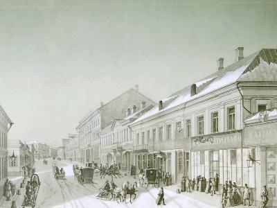 Kuznetsky Most, Moscow, Russia, 1840S--Giclee Print