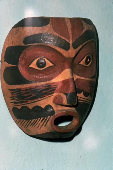 Kwakiutl Face Mask, Pacific Northwest Coast Indian-Unknown-Giclee Print