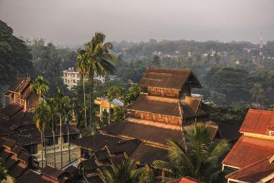 Kyaik Tan Lan Pagoda, the Hill Top Temple in Mawlamyine, Mon State, Myanmar (Burma), Asia-Matthew Williams-Ellis-Photographic Print