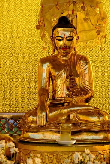 Kyaik Than Lan Pagoda, Mawlamyine (Moulmein), Myanmar (Burma), Asia-Nathalie Cuvelier-Photographic Print