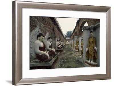 Kyauktawgyi Pagoda in Amarapura, Myanmar--Framed Giclee Print