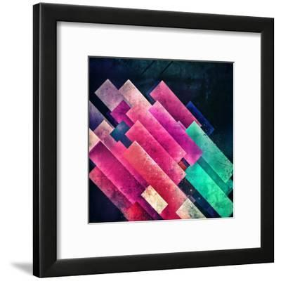 Kyckd-Spires-Framed Art Print
