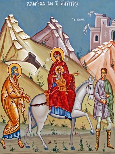 Kykkos Monastery Mural, Cyprus--Giclee Print