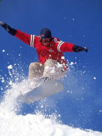 Snowboarding, Squaw Valley, CA