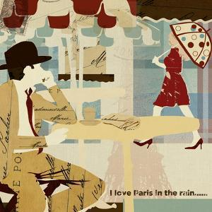 Paris in the Rain by Kyle Mosher