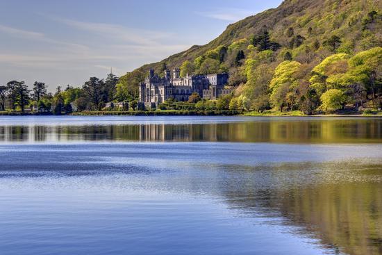 Kylemore Abbey, Connemara, County Galway, Connacht, Republic of Ireland, Europe-Carsten Krieger-Photographic Print