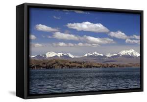 Bolivia, Lake Titicaca, Scenic Mountains by Kymri Wilt