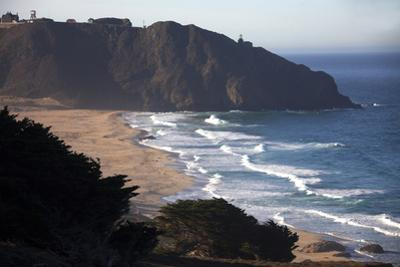 California. Pacific Coast Highway 1, South of Carmel by the Sea