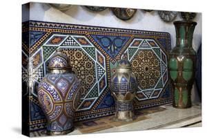 Ceramics, Crafts, Fes, Morocco, Africa by Kymri Wilt