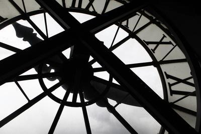 Clock at Musee D'Orsay, Paris, France