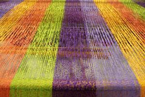 Europe, Ireland, Avoca. Avoca Handweavers Mill, County Wicklow. Colorful Wool Yarns. by Kymri Wilt