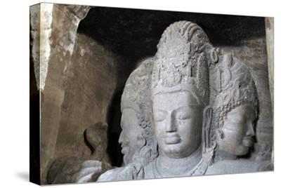 Mahesamurti of Elephant Island Caves, Mumbai, India