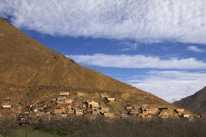 Morocco, Imlil. Berber Village in Atlas Mountains by Kymri Wilt