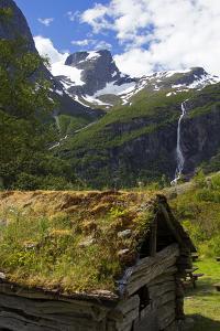Norway. Jostedalsbreen National Park Cabin by Kymri Wilt