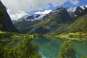 Norway. Lake Floen by Kymri Wilt