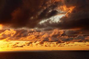 Portugal, Azores. Sunrise by Kymri Wilt