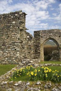 United Kingdom, Wales. Cymer Abbey in Gwynedd, a Welsh Historic Monument of Cadw by Kymri Wilt