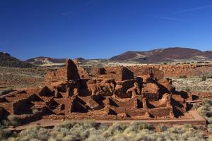 USA, Arizona, Wupatki National Monument. Wupatki Pueblo, the Largest Dwelling in the Region by Kymri Wilt