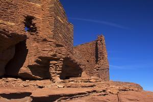 USA, Arizona, Wupatki. Wukoki Pueblo in Wupatki National Monument by Kymri Wilt