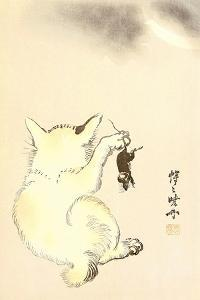 Cat and Mouse by Kyosai Kawanabe