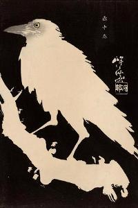 Crow in the Snow by Kyosai Kawanabe