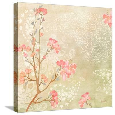 Kyoto Cherry Blossoms--Stretched Canvas Print