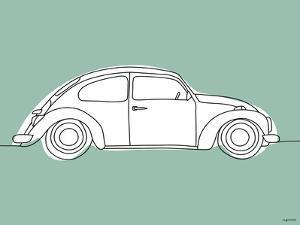 Green Car by Kyra Brown