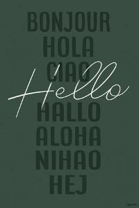 Hello - Green by Kyra Brown