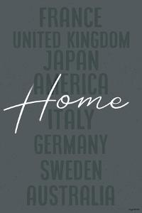 Home - Blue by Kyra Brown