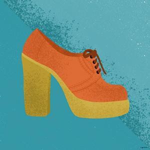 Orange Clog by Kyra Brown