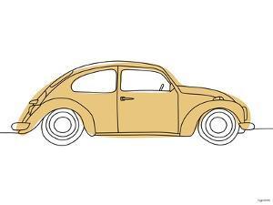 Tan Car by Kyra Brown