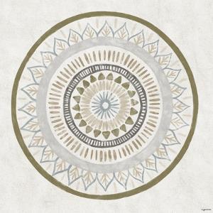 Watercolor Mandala by Kyra Brown