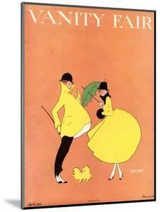Vanity Fair Cover - April 1916 by L. A. Morris