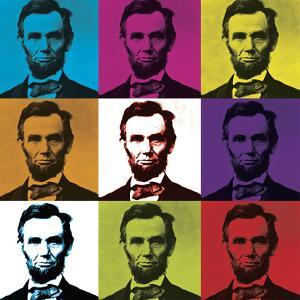 Abraham Lincoln by L^A^ Pop Art