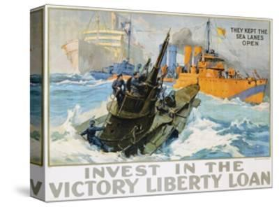 Invest in the Victory Liberty Loan Poster