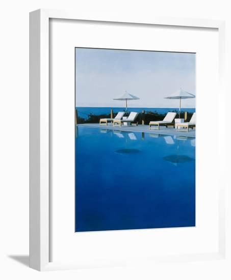 L.A. Swimming Pool, 2006-Alessandro Raho-Framed Giclee Print