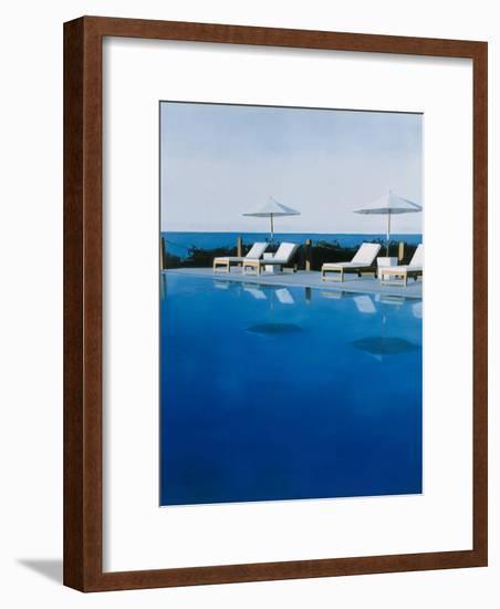 L.A. Swimming Pool, 2006-Alessandro Raho-Framed Giclee Print