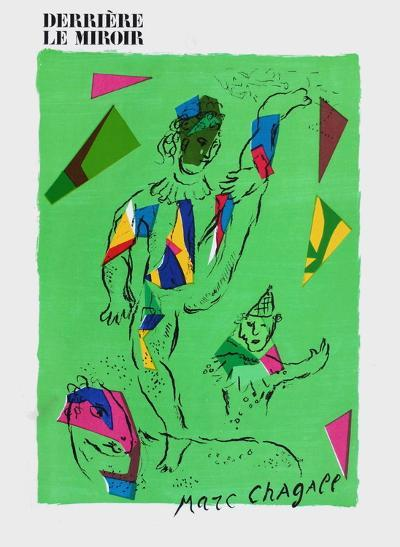 L'Acrobate Vert-Marc Chagall-Premium Edition