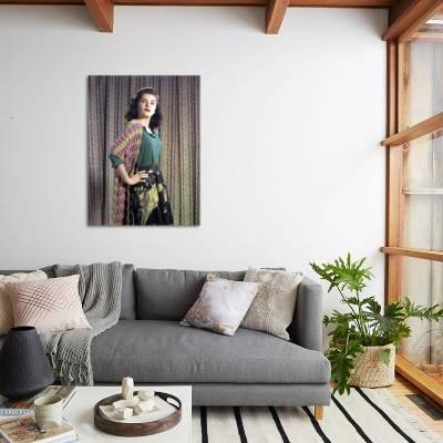 L Actrice Americaine Debra Paget Dans Les Annees 50 Photo Photo By Art Com