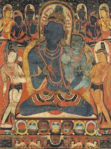 L'âdibuddha Vajrasattva (rDo-rje semsdpa') et sa parèdre